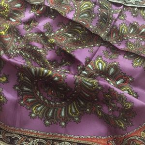 Talbots Silk Scarf
